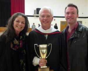 Bob Mann awarded Caldwell Cup